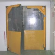 Puertas manuales flexibles