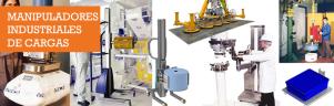 Manipuladores industriales de carga
