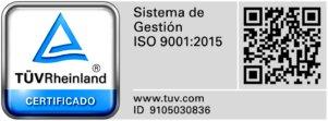 Vinca dispone del Certificado ISO 9001:2015