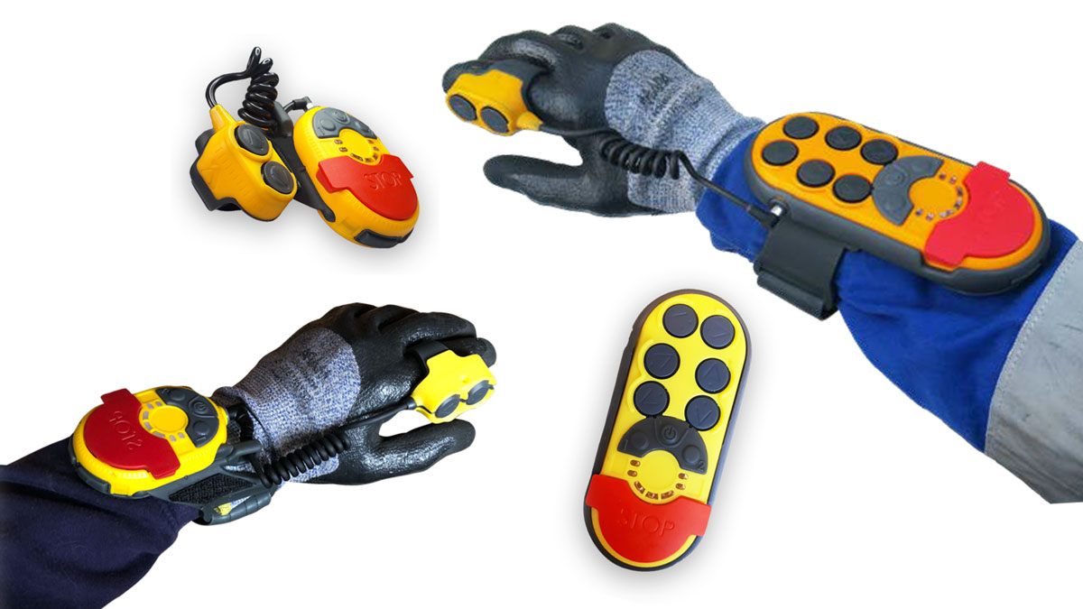 New Hands-Free Industrial Remote Control