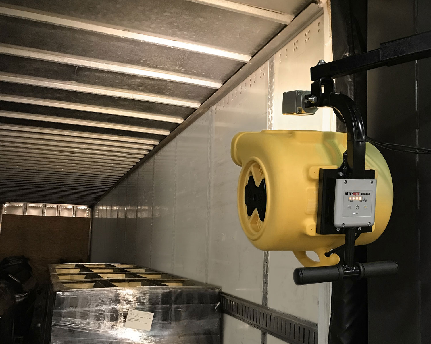 New Coolman 2800 loading dock trailer fan