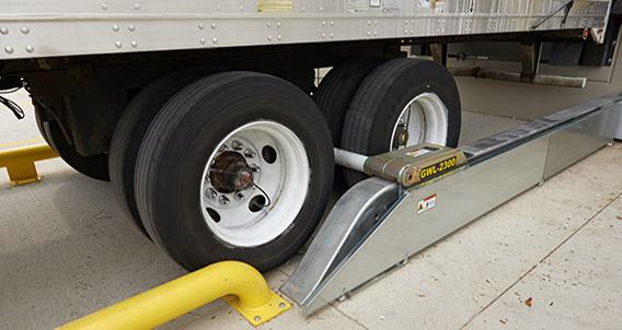 Increase safety at your loading docks with WHEEL-LOK