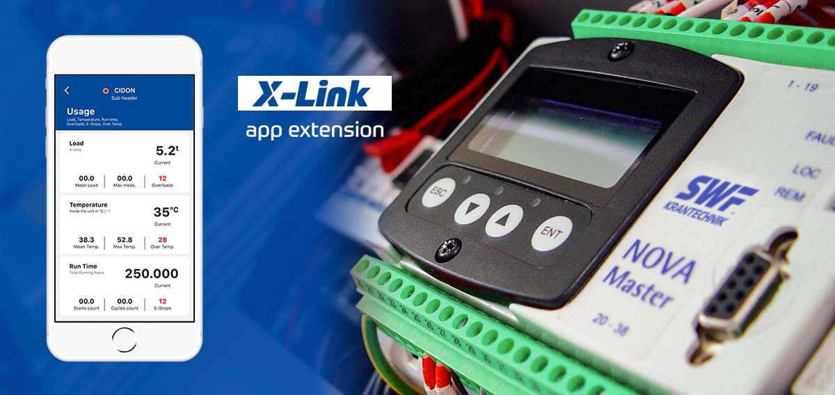 X-LINK the new app for NOVA hoists