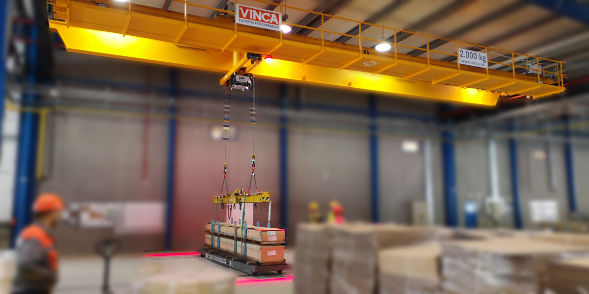 New SCL safety system for crane bridges
