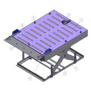 Special scissor lift tables