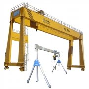 Bridge cranes and Gantry cranes
