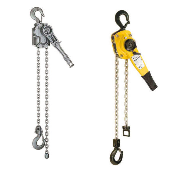 Manual lever hoists