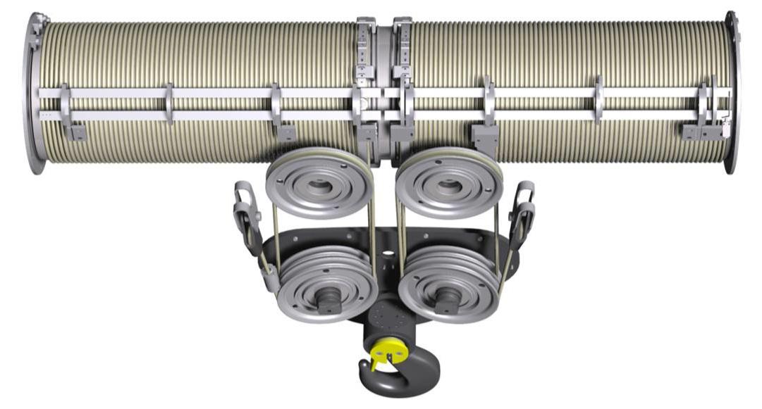 Polipasto eléctrico cable CRABSTER reenvio