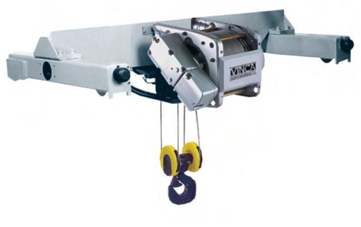 Polipasto eléctrico de cable birrail