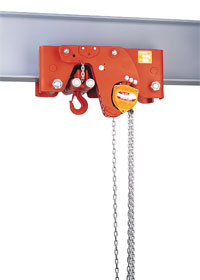 Optional manual hoists atex 02