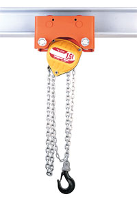 Optional manual hoists atex 01