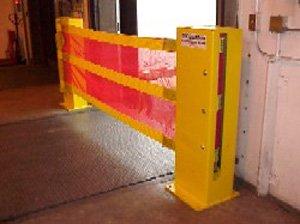 Barrier of security guard dok guardian