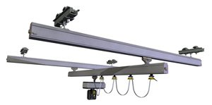 Bridge lightweight crane alu ligsther monorail