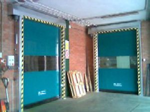 Rolling automatic door super roll 2