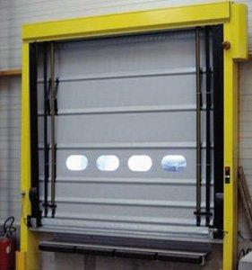 Porta ràpida autoreparable impactable VECTORFLEX 50D