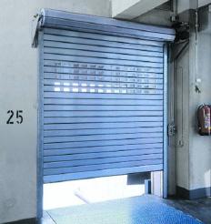 Puerta enrollable aislamiento interior 02