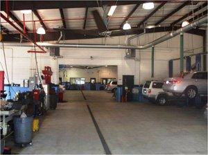 Mechanical workshop industrial fan