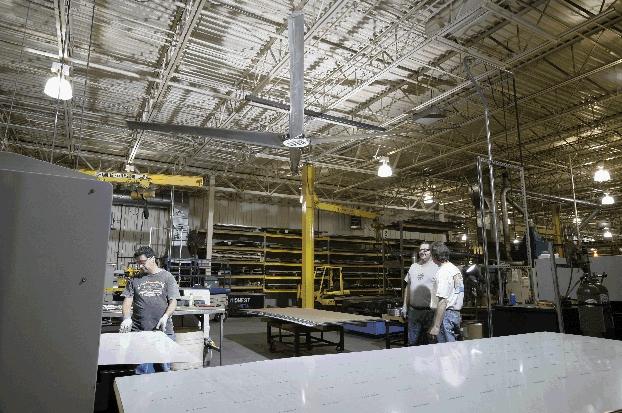 Ventilador industrial fabrica