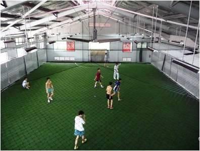 Indoor soccer industrial fan