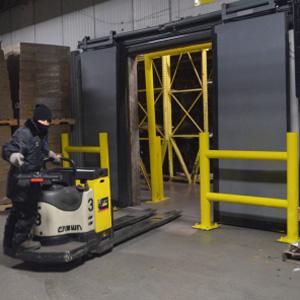 Puerta rapida barrier glider 600
