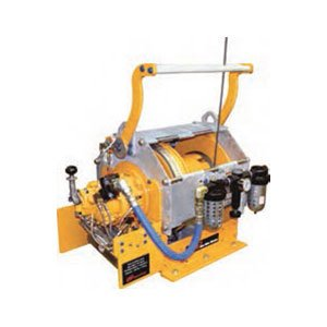 High capacity marine pneumatic winch 3