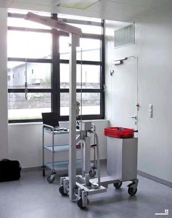 Aluminium custom made multilifts example 11