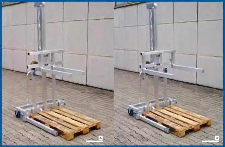Aluminium custom made multilifts example 4