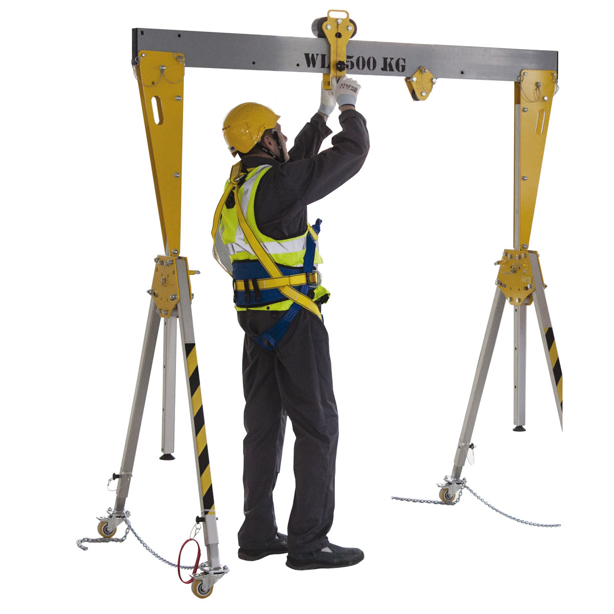 New vinca model gantry alu plus Lightweight gantry crane