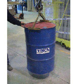 Implemento sujección vertical bidones bobinas 03