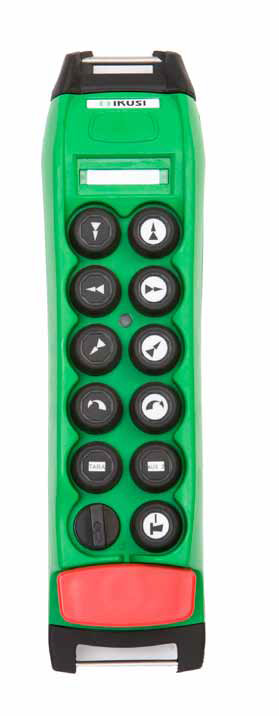 Frontal mando radio control ATEX