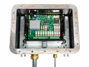 Interior del receptor radio control ATEX