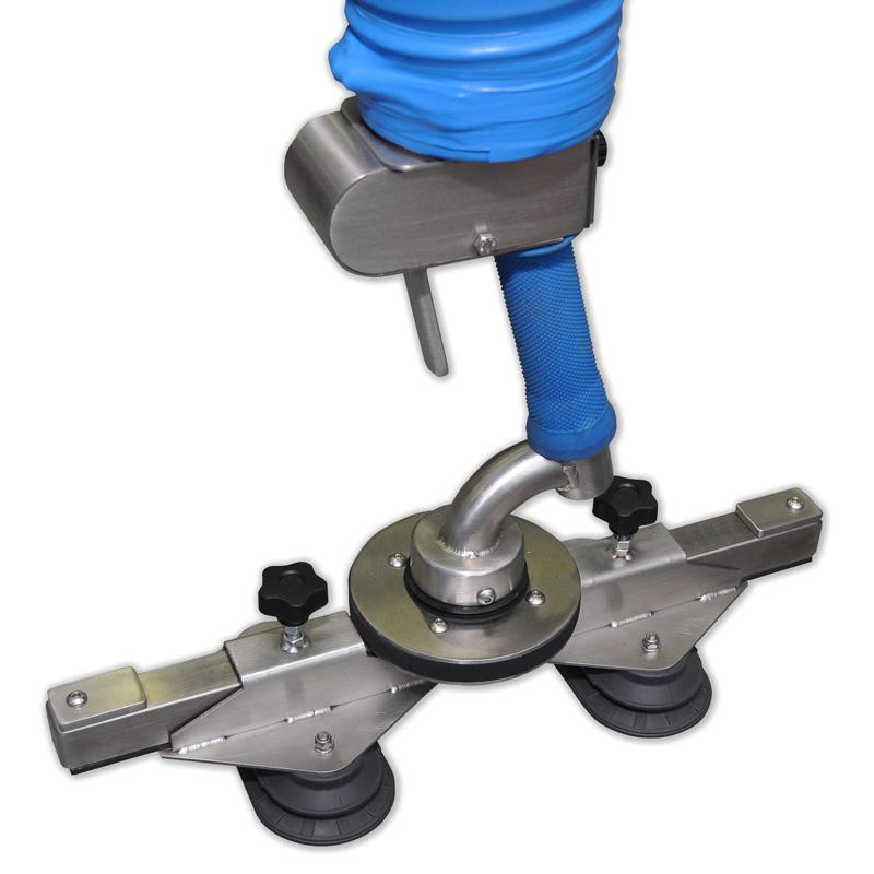 Implement suction cups vacuum manipulator trompex lite