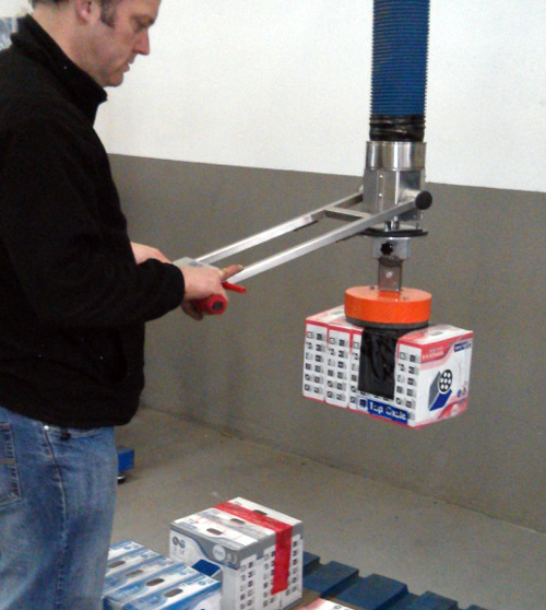 Trompex lite for boxes with flexible attachment