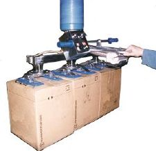 Manipulador de vacio trompex para cajas