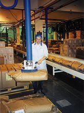 TROMPEX vacuum manipulator for sacks