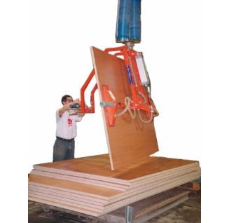 Manipulador de vacio trompex para tableros de madera