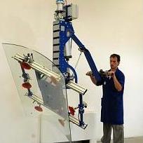 Manipulador ingrávido para vidrio