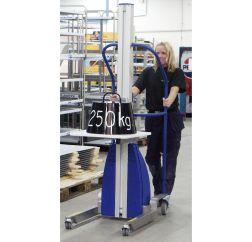Manipulador NEWTON para cajas y contenedores