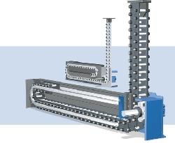 Cadena mecánica rígida de elevación