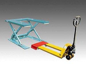 U-shaped upper surface for pallet handling