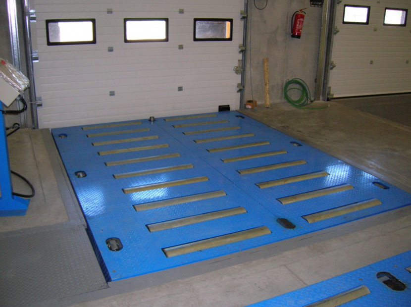 Transportadores palets aereos