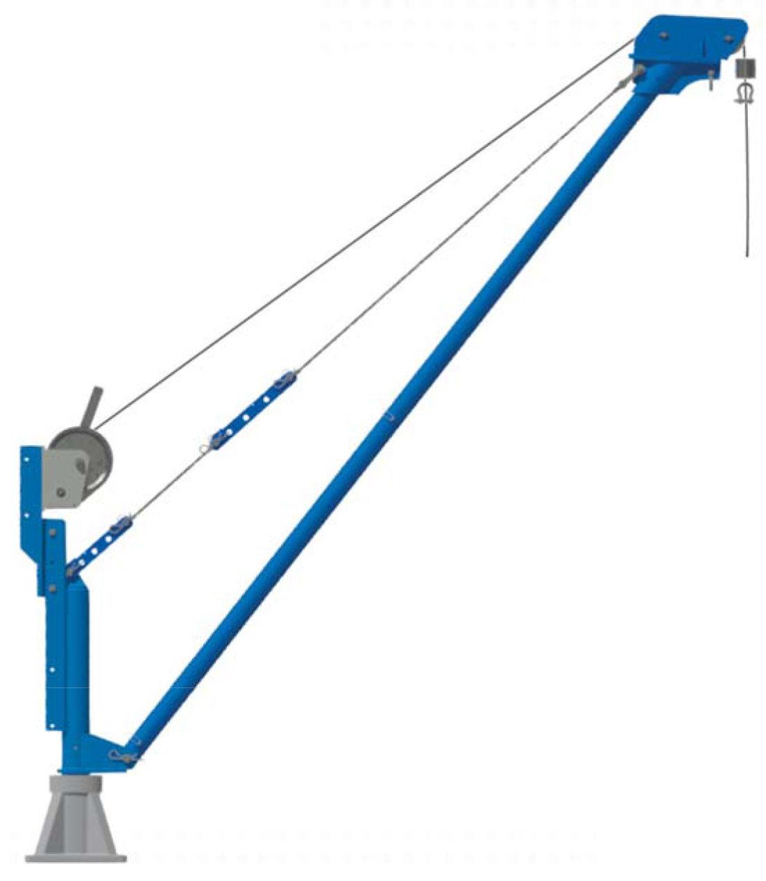 Movable Aluminium Jib Crane