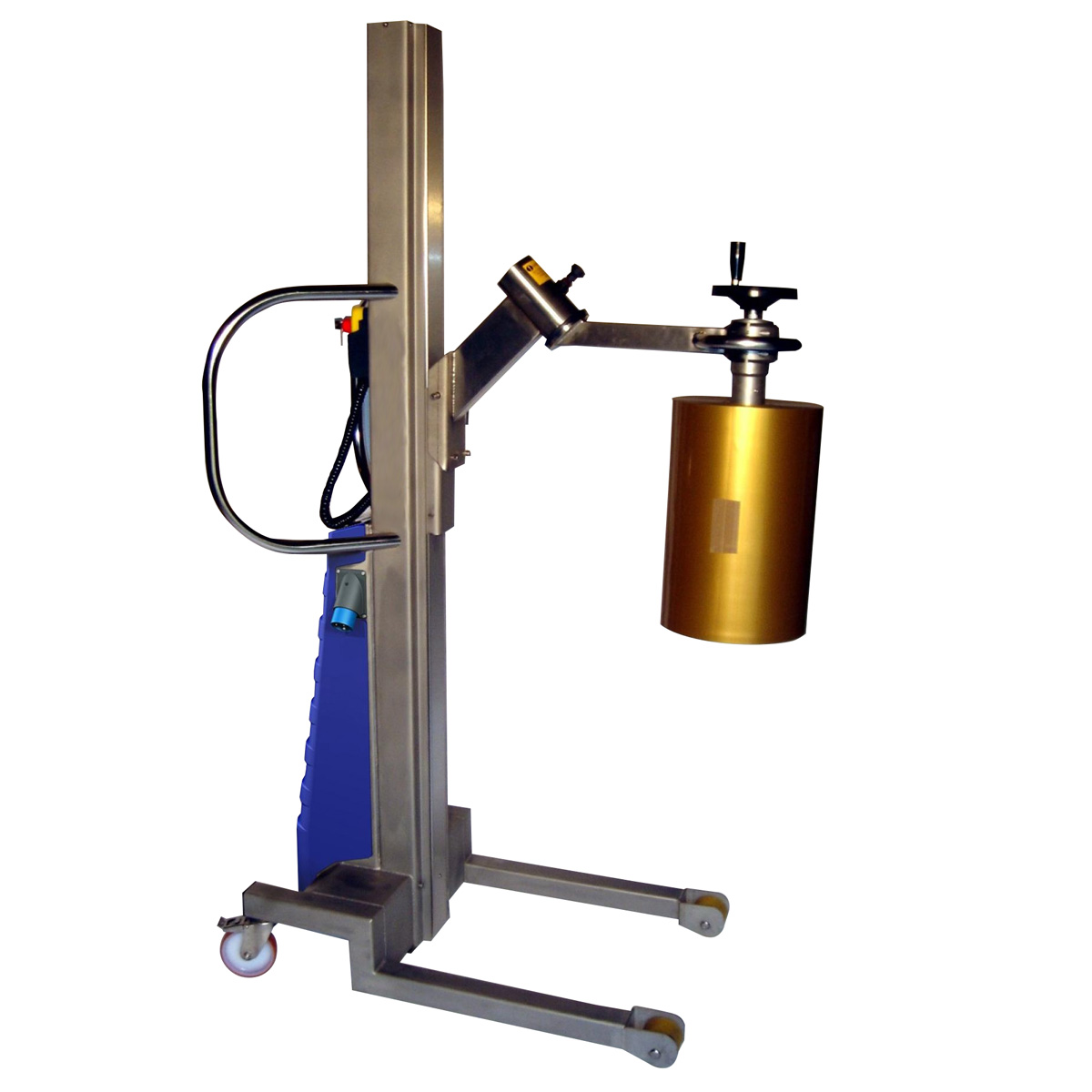 Elevador Móvil T150 Vastago Bobinas