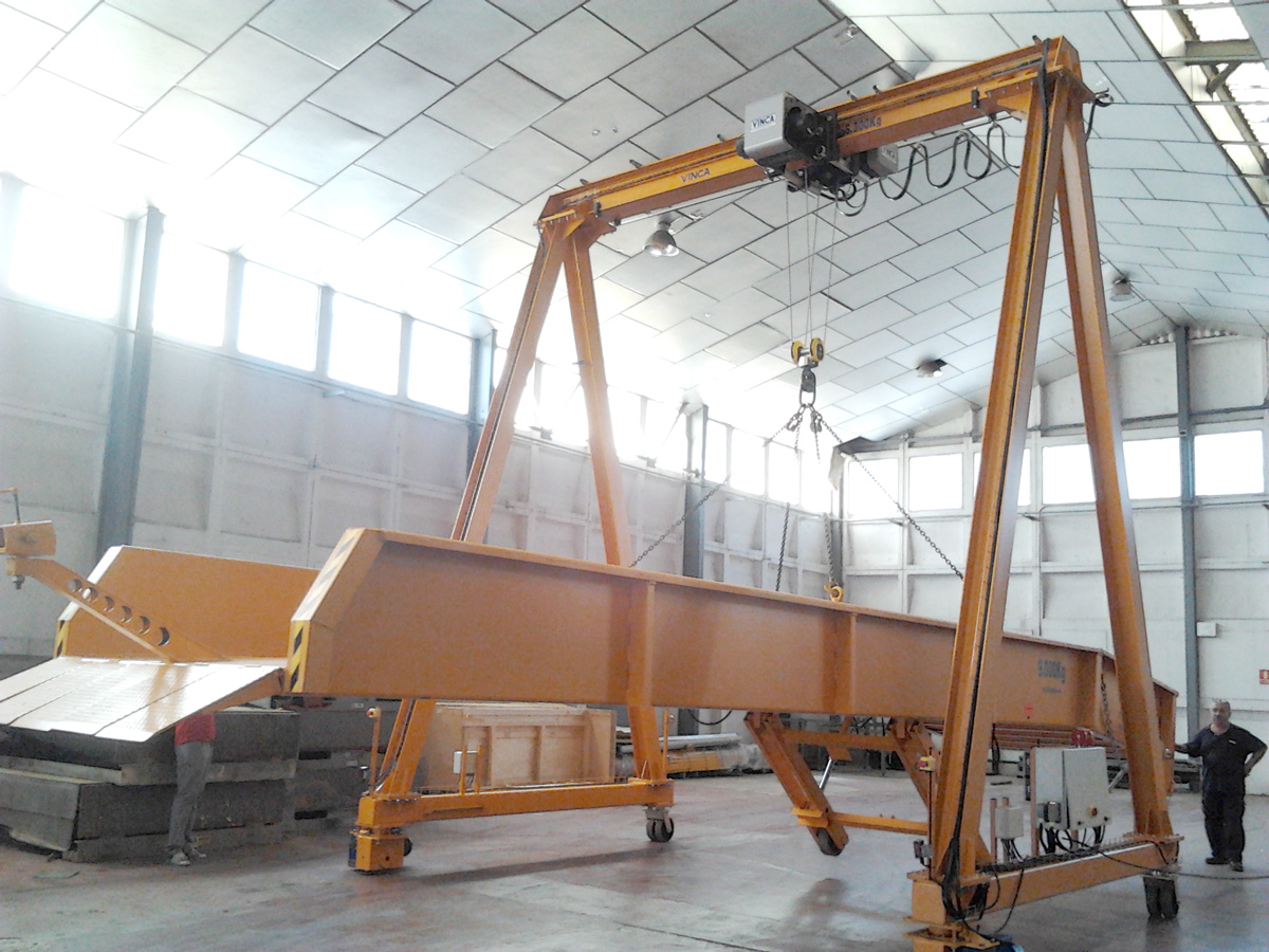 Car port crane wgr 0035