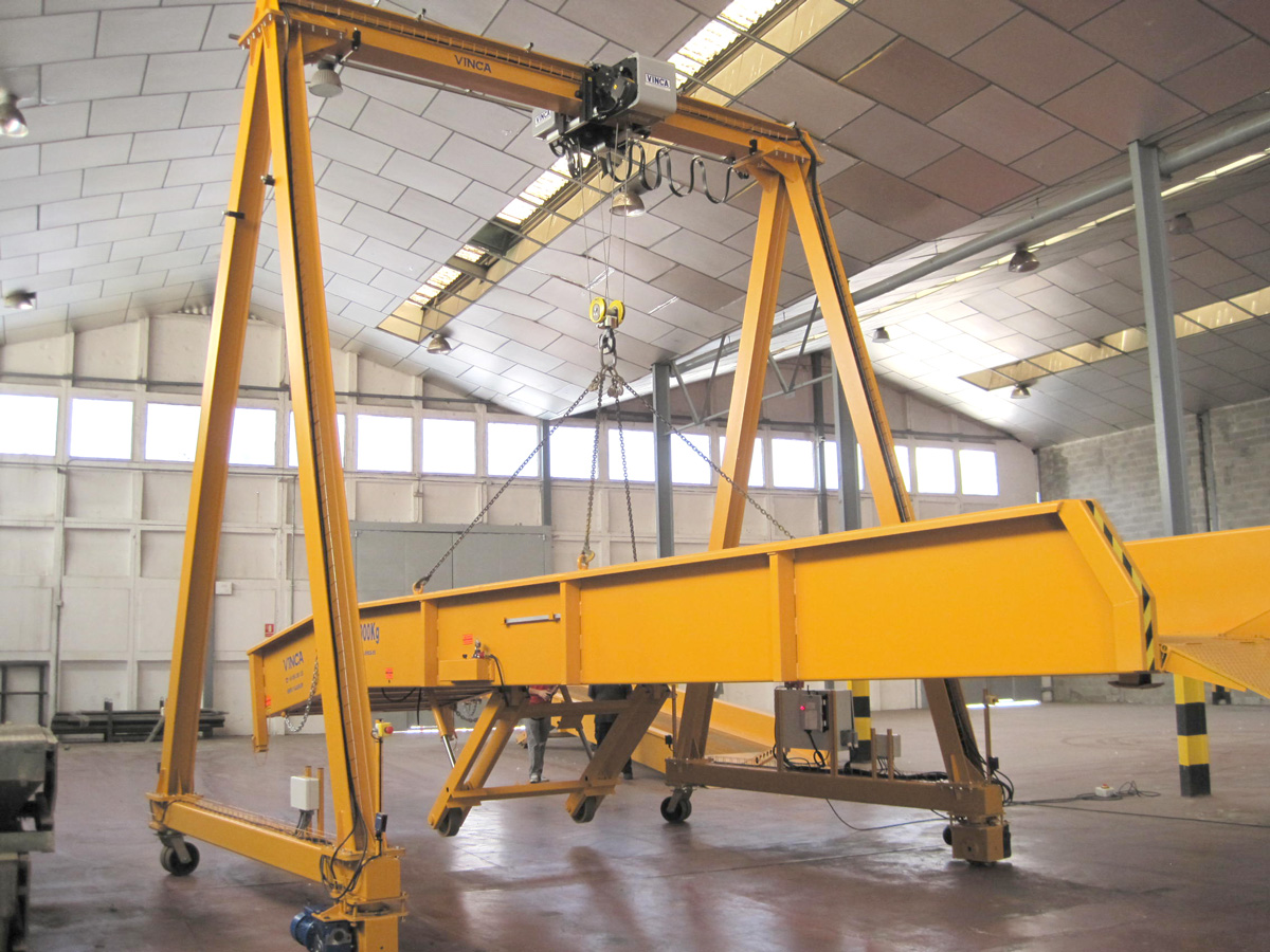 Automotive port crane wgr 0096