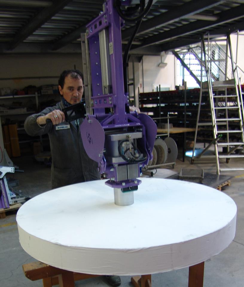 Ingrávido bobinas con vastago expansivo