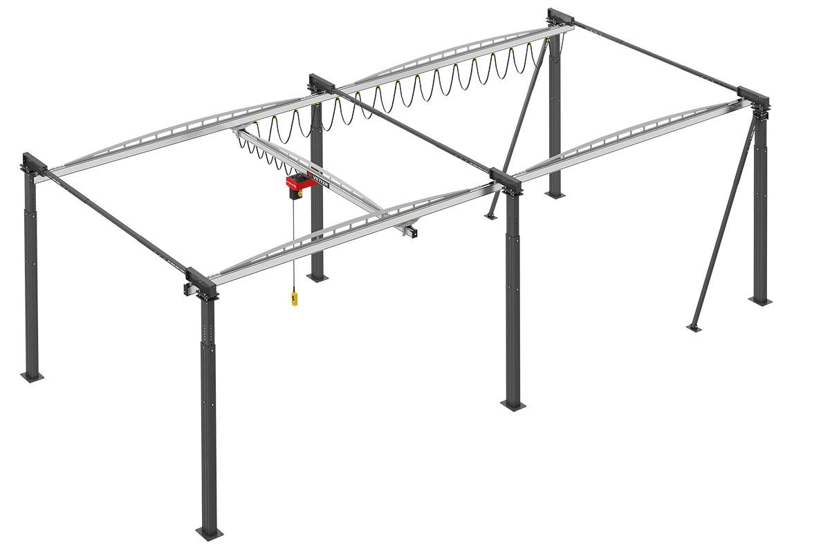 Kit modular ErgoLine render 2