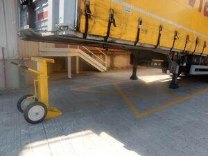 Boîte de camion de chevalet de sécurité