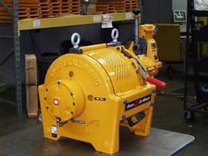 High capacity winch 1