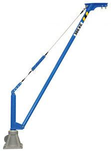 Movable aluminium jib crane COMALU 300